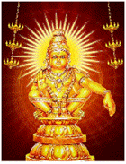 God aiyappan animation wallpaper