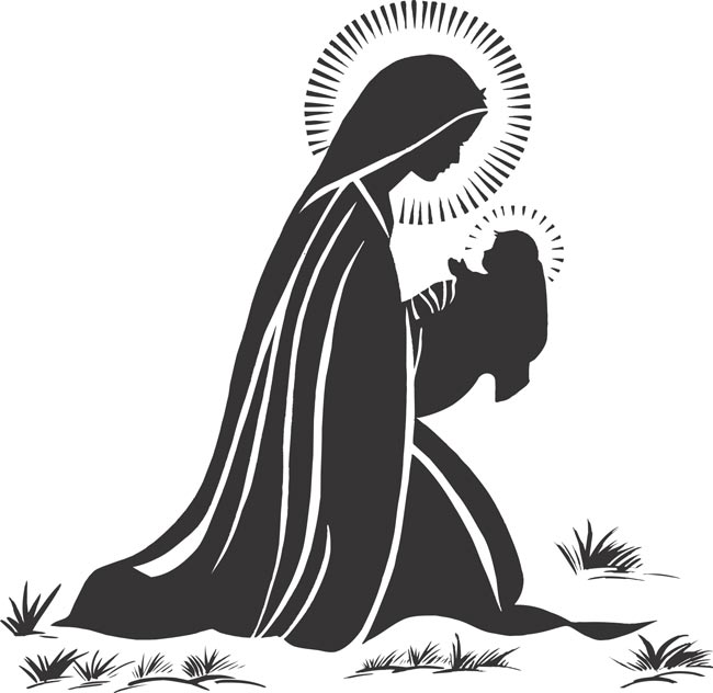 Mary Mother Of God Clipart