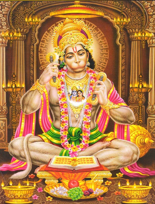 Indian Hindu God Lord Hanuman Anchaneyar Image High Resolution Desktop Wallpaper Download